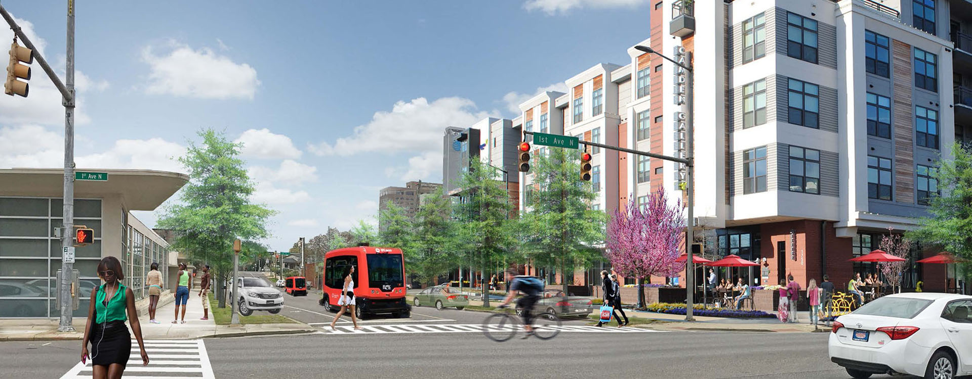 What 1st Avenue North at Innovation Depot could be Tomorrow